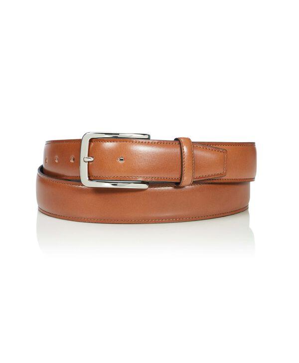 "Belts Contrast Edge Leather Belt 42"""