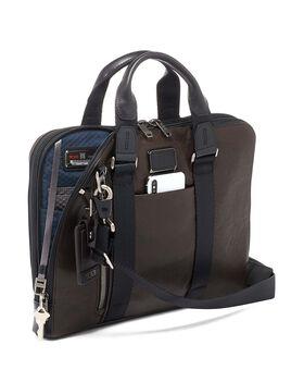 Aviano Slim Brief Leather Alpha Bravo