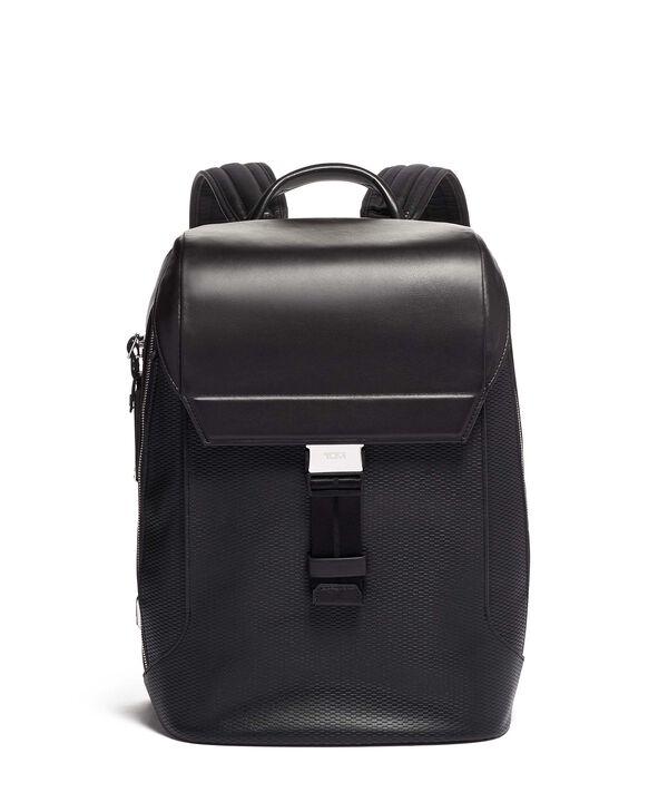 Ashton Dolton Flap Backpack Leather