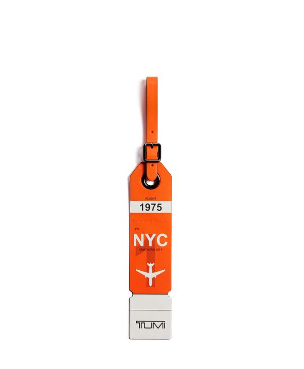 Travel Accessory New York Luggage Tag
